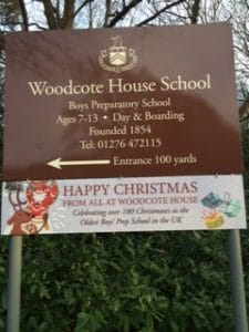 Happy Christmas from all at Woodcote House