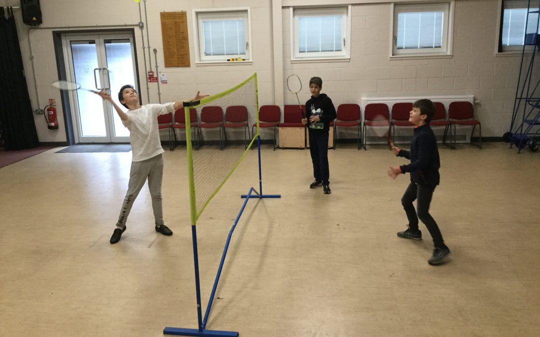 Boarders Badminton