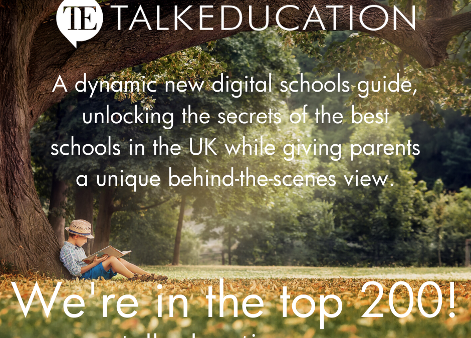 Talk Education Top 200!