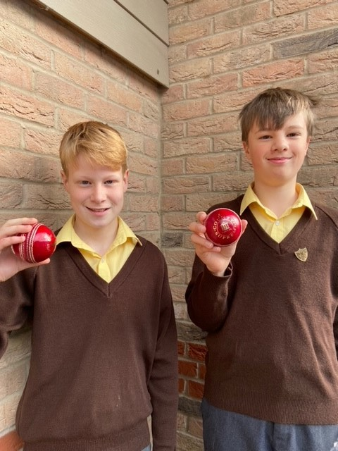 Triumphant Cricketers!
