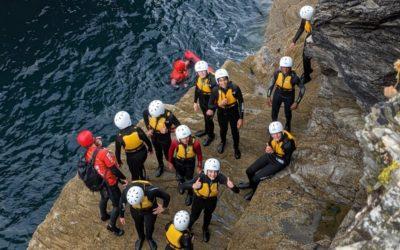 Leavers' Trip – Coasteering